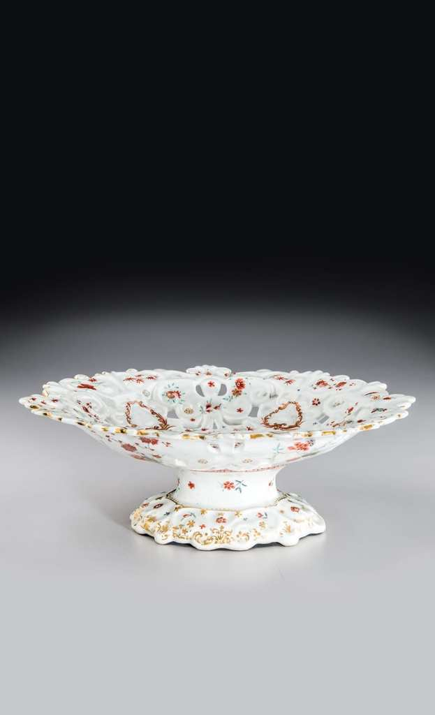 Footed Bowl. Gift of the Delhom Service League in memory of Hugh Tait. Courtesy of the Mint Museum.