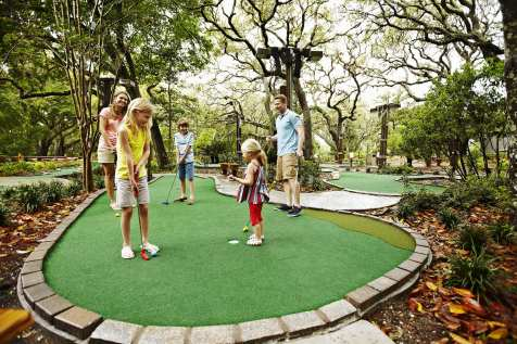 Herons Cove Adventure Golf lifestyle - high res