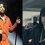 """J. Cole Reacts to Eminem's """"The Storm"""" Freestyle at BET Hip-Hop Awards 2017"""