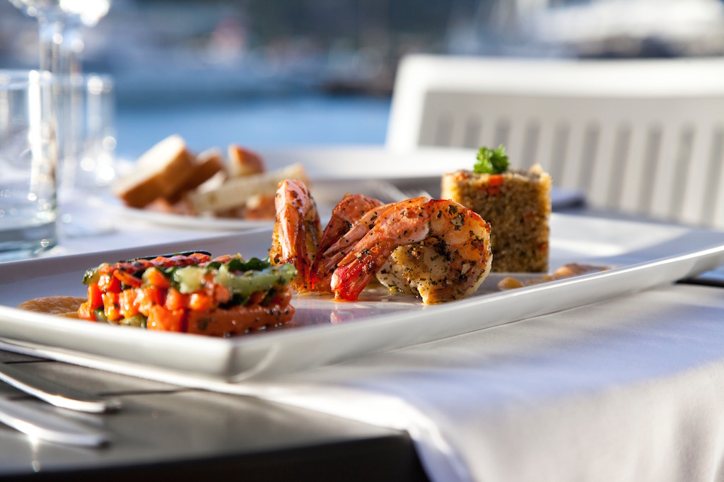 Good THE LOUNGE Located Within The Hotel Lobby And Above The Restaurant, South  Pointu0027s Lounge Overlooks The Falmouth Harbour Marina And Offers A Classy,  ...