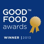 Good Food Awards Winner Seal .O.2013