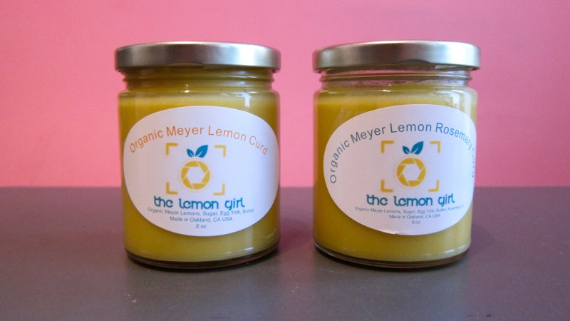 Bright & Sunny Lemon Curd from The Lemon Girl