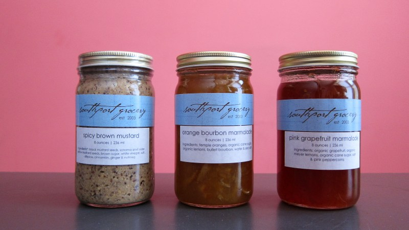 New Jars on the Shelves