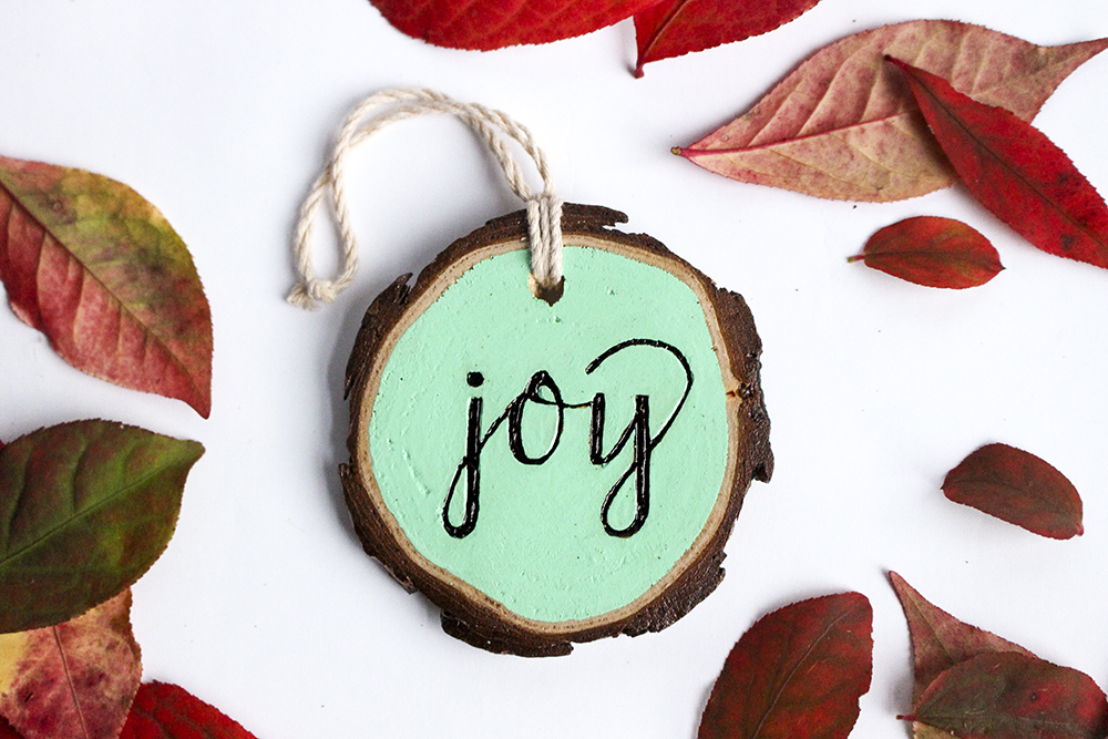Wood Burned Wood Slice Ornaments | by South Ranch Creative