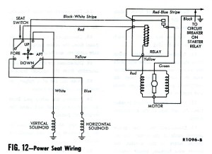 Power seat switch repair '62  Vintage Thunderbird Club