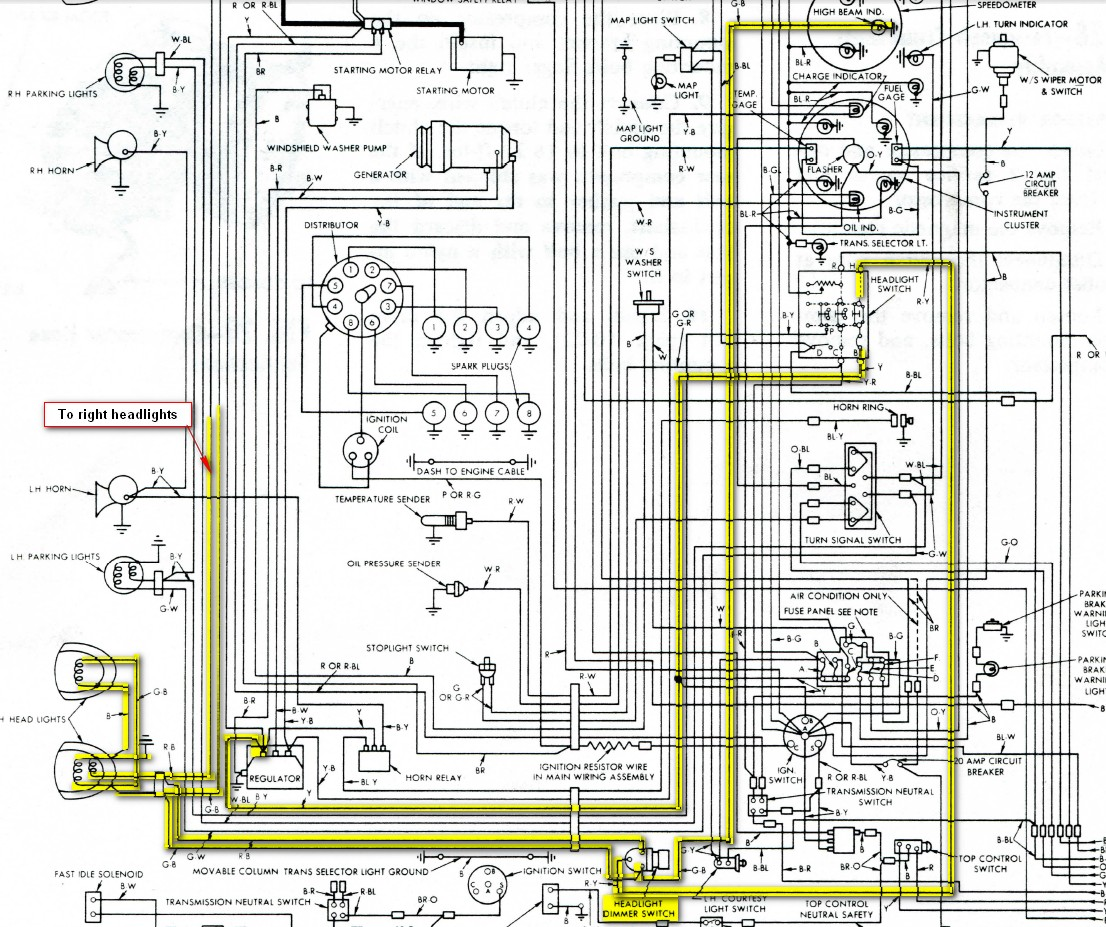 56 Thunderbird Wiring Diagram on international truck wiring