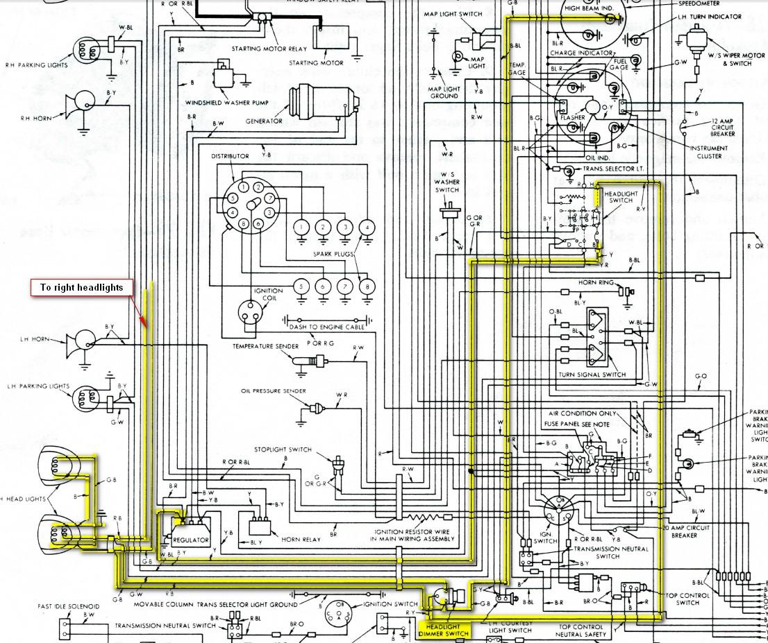 56 Thunderbird Wiring Diagram