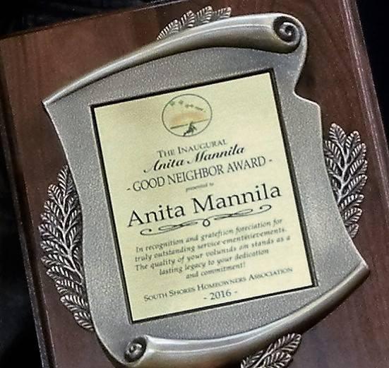 Inaugural Good Neighbor Award