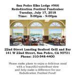 Elks Lodge Fundraiser at 22nd Street Landing