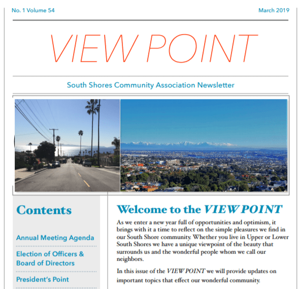 New View Point Newsletter