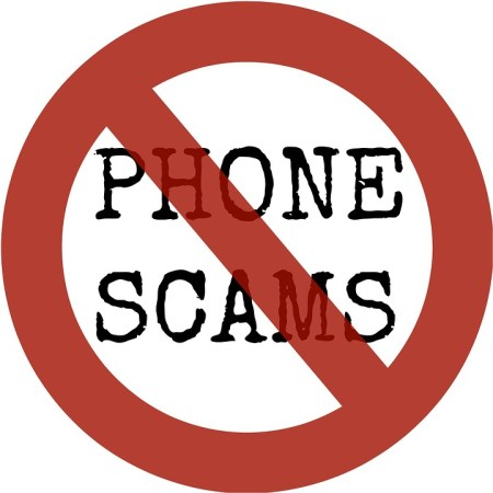 no phone scams