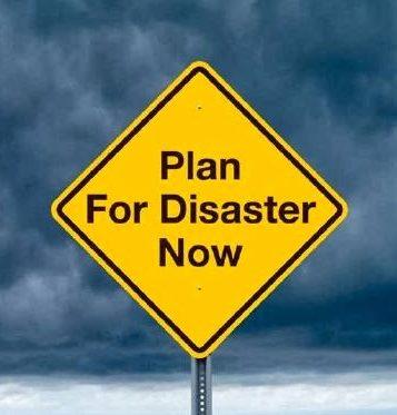 disaster preparedness sign