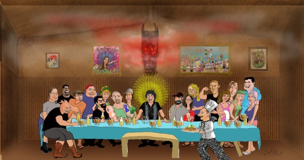 Last Supper by Ron Pitts