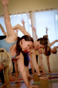 Attend a class at Source Yoga.