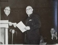 Father Meinrad Gaul and Father Michael Feeney