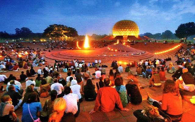Christmas and New Year celebration in Pondicherry Auroville