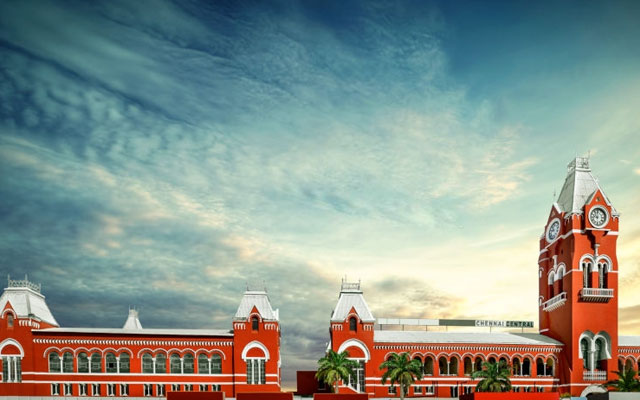 Chennai central railway station