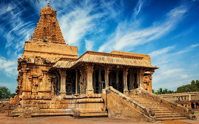 Brihadishvara Temple also called  Rajarajesvaram or Peruvudaiyar Kovil, is a prominent and world famous hindu temple situated in Tanjore district of Tamil Nadu.