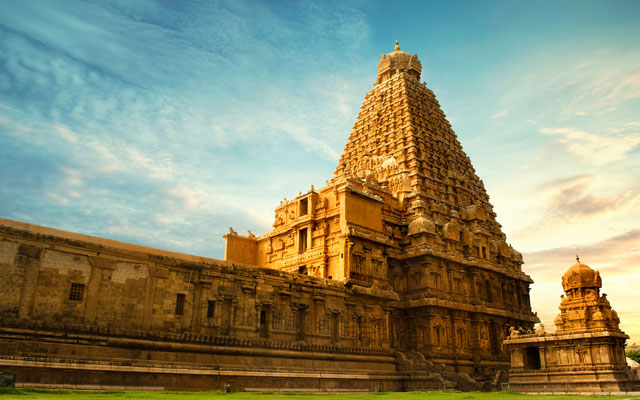 Peruvudaiyar Kovil or Brihadishvara Temple in Thanjavur (Tanjore)