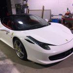Ferrari 458 Italia In Gloss White
