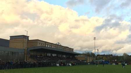 Champion Hill, the home of Dulwich Hamlet FC