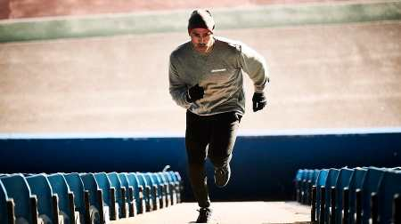 Former Olympian proving you can exercise no matter how old you are