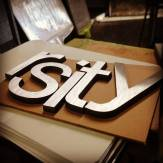 Rsity Cut out metal Letters