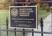 Family Land Heritage Post