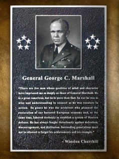 Gen George C Marshall