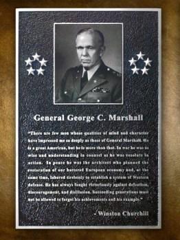 Gen George C Marshall