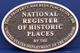 Oval Bronze National Register of Historic Places