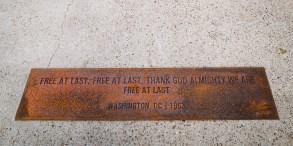 Free at last, Free at last, Thank God Almighty we are free at last. Washington, DC - 1963