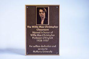 U V Print Portrait plaque