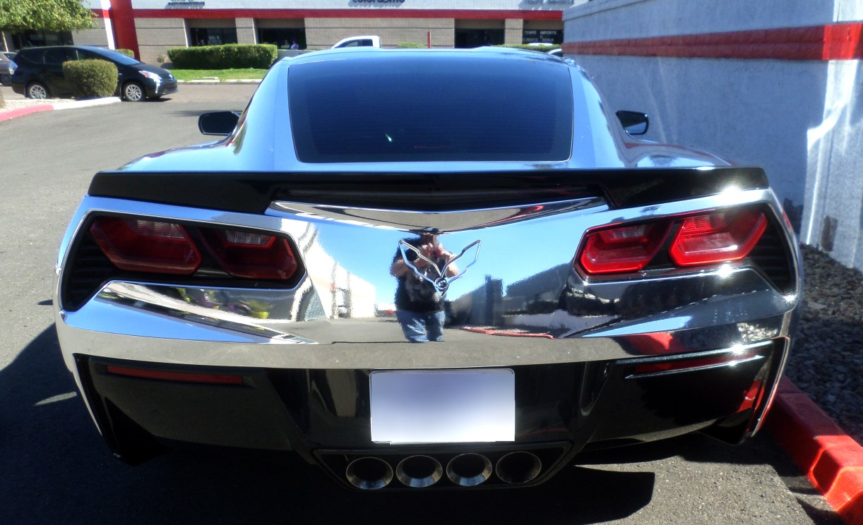2015 C7 Corvette Chrome Wrap