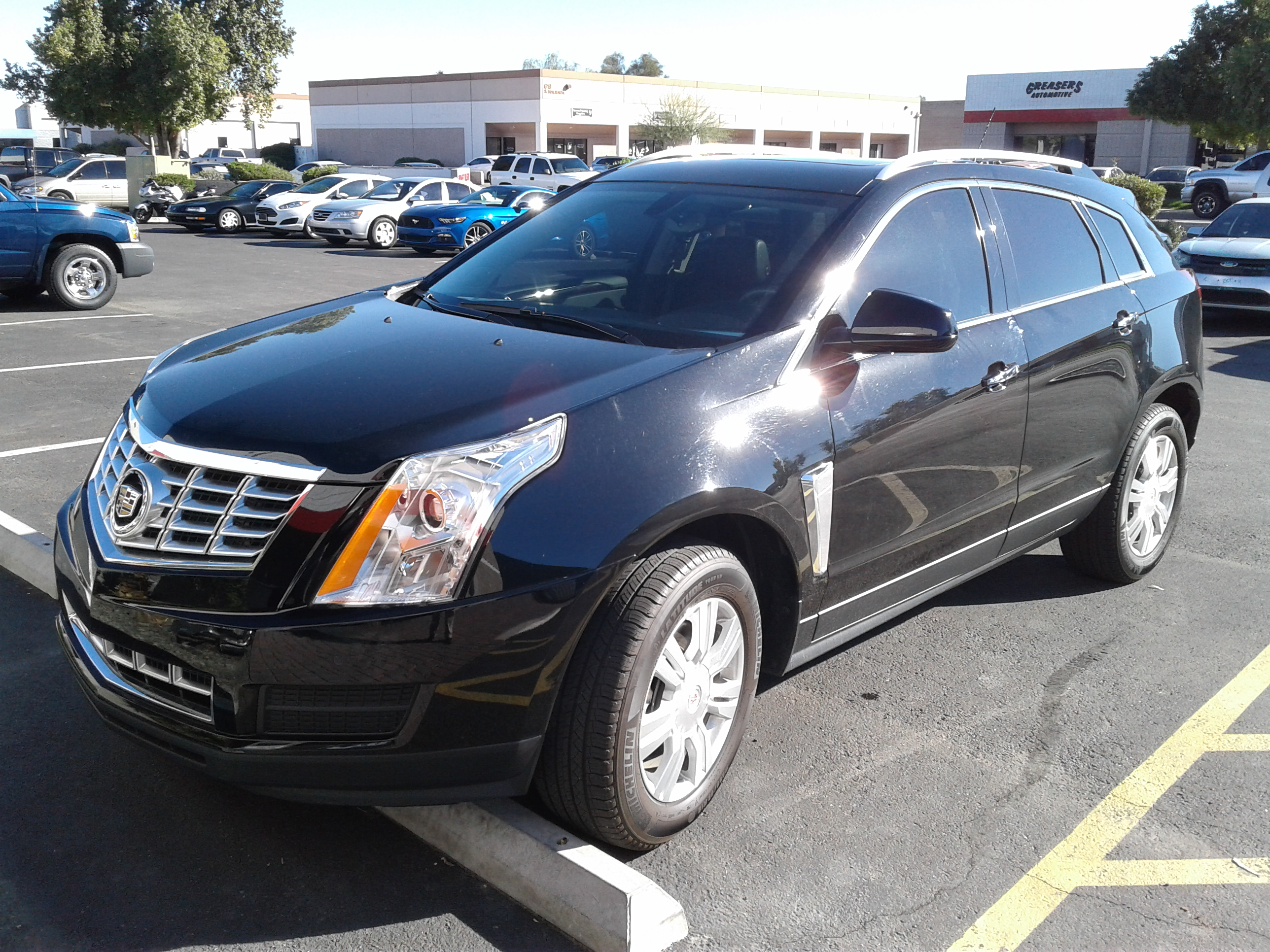 Cadillac Pre-Purchase Inspection 2