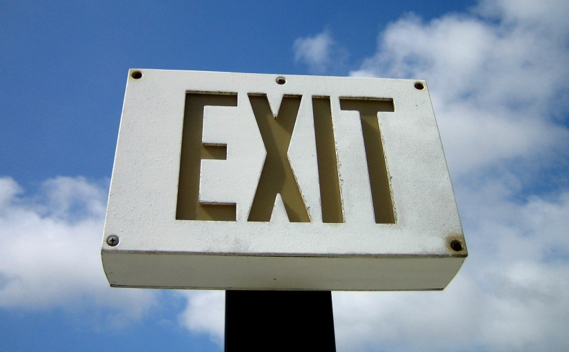 2 Ways to Make your Church Exits Less Attractive