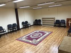meditation room in the Resiliency Center