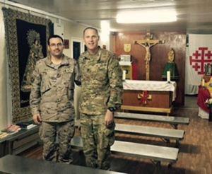 chaplains at Camp Taji