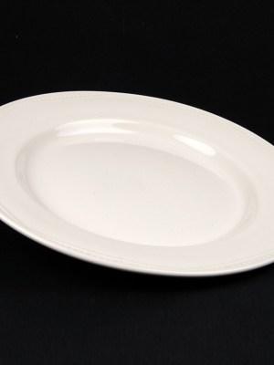 DINNER PLATE WHITE CROCKERY HIRE