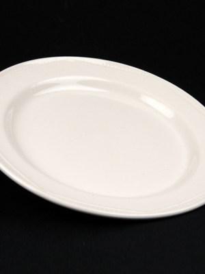 DESSERT PLATE White Crockery Hire