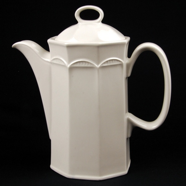 COFFEE POT White Crockery Hire