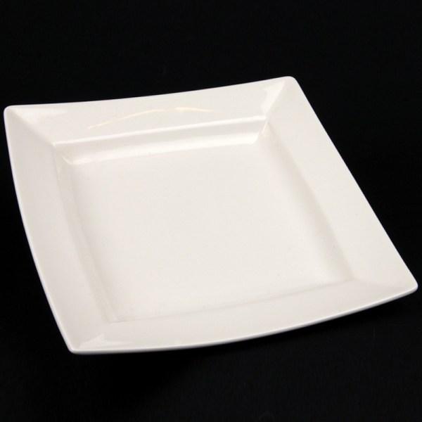white china hire plate