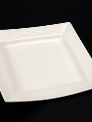 white china hire plate