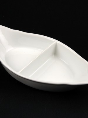 "VEG DISH - CHINA 8"" (DIVIDED)"