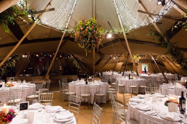 ice chairs in a tipi