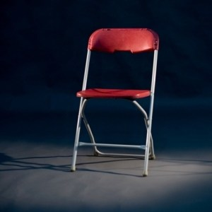 Folding election chair hire