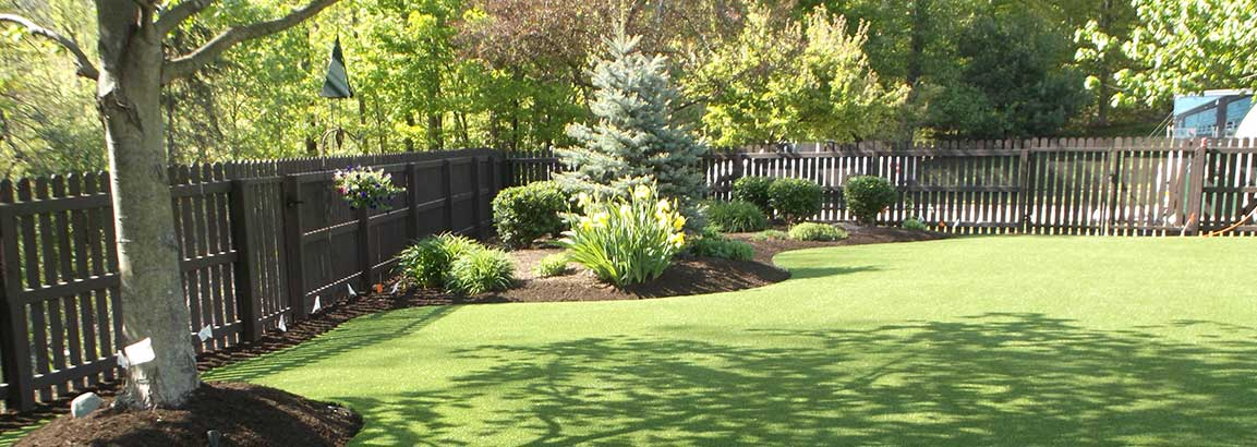 Full Backyard Artificial Lawn