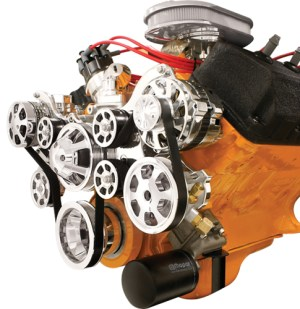 BILLET TRU TRAC BIG BLOCK MOPAR,DODGE,HEMI SERPENTINE KIT,ALTERNATOR,COMPRESSOR