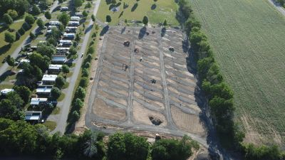 All new Sites 90% Top Soiled Ready for Hydroseed!