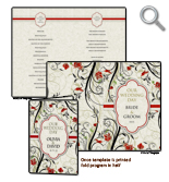 Free wedding invitation templates